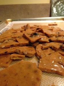 Maple Bourbon Bacon Brittle