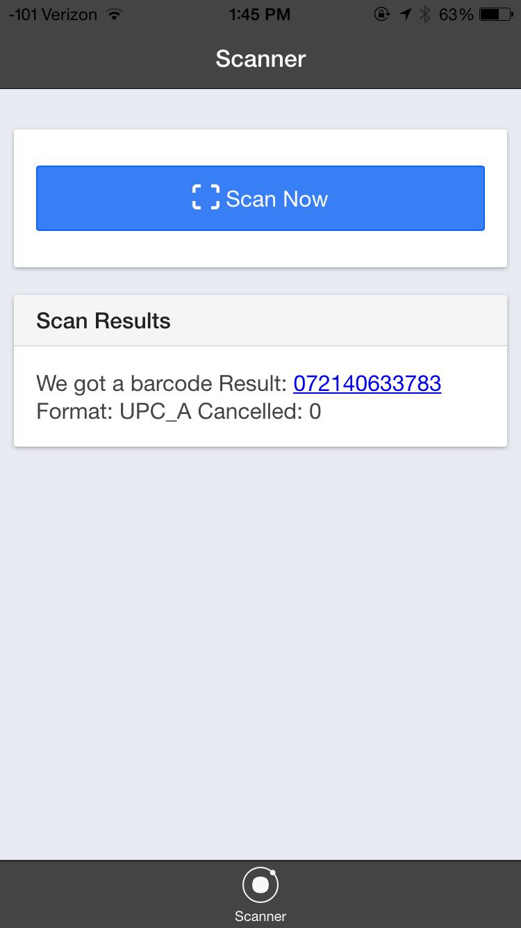 Ionic Framework Introduction – Barcode Scanner | Adam Weeks